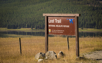 A 2020 project to open up access to the Lost Trail National Wildlife Refuge is in jeopardy if the Land and Water Conservation Fund isn't reauthorized. (USDA NRCS Montana/Flickr)