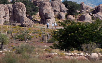 City of Rocks State Park is one of 41,000 recreation areas and other projects across America that have benefitted from the Land and Water Conservation Fund. (emnrd.state.nm.us)