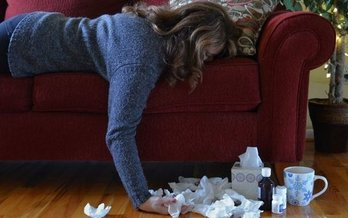 Headaches and severe body aches are hallmark signs of the flu. (Marg Johnson/Twenty20)