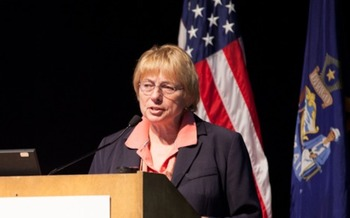 Gov.-elect Janet Mills, who most recently served as Maine's attorney general, is already familiar with such issues as the debt industry's impact on older consumers. (Consumer Financial Protection Bureau/Wikimedia Commons)