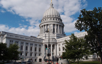 Wisconsin's Republican-controlled Legislature is forging ahead with a series of power-stripping bills in the state Capitol. (milkmantep/Flickr) Wisconsins Republican-controlled Legislature forged ahead with passing a series of power-stripping bills in the state capitol. (milkmantep/Flickr)