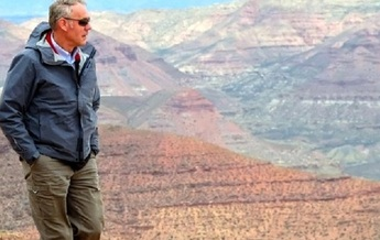 Interior Secretary Ryan Zinke visited the Bears Ears National Monument in Utah in May 2017. He later recommended its acreage be reduced by 75 percent. (U.S. Dept. of Interior)<br /><br />