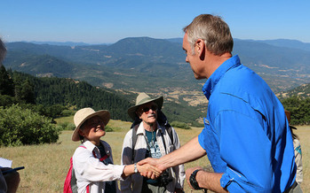 During his tenure, Interior Secretary Ryan Zinke proposed shrinking the Cascade-Siskiyou National Monument. (Maria Thi Mai/Bureau of Land Management)<br /><br />
