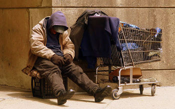 New research found the rate of homelessness in Boston is among the highest in the nation. (Matty1378/Wikimedia Commons)