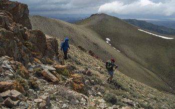 Parts of Job Peak Wilderness Study Area are included in a proposed expansion of Naval Air Station Fallon. (Kirk Peterson/Friends of Nevada Wilderness)