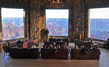 The North Rim Lodge at the Grand Canyon is one of hundreds of U.S. National Park facilities in need of maintenance and repairs. (Flickr)