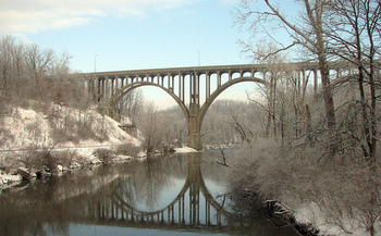 Cuyahoga Valley National Park has more than $45 million in maintenance needs. (Cuyahoga jco/Flickr)