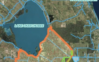 The Legislature and governor approved legislation that provides more than $1 billion to increase water storage south of Lake Okeechobee as part of an effort to reduce harmful lake discharges to the Caloosahatchee and St. Lucie estuaries. (SFWMD)