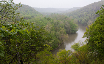 Kentuckians fighting pollution flowing into the Green River are concerned that weakened Clean Water Act protections could hurt their case. (PatrickRohe/Flickr)