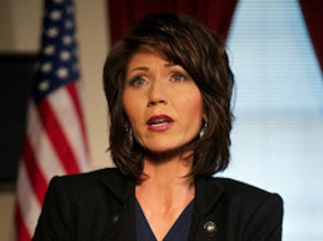 South Dakota Gov. Kristi Noem says the state's economy has