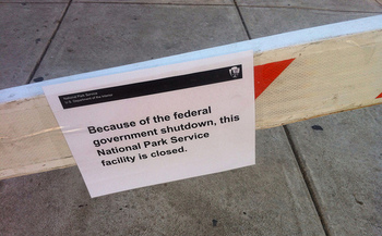 The government shutdown has affected an estimated 11,600 federal workers in Washington state. (justgrimes/Flickr)