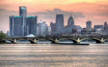 Detroit was recently ranked ninth nationally for high numbers of water shutoffs. (Bryan Debus/Flickr)