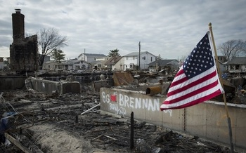 Extreme weather events such as Hurricane Sandy are just some of the consequences of climate change. (FEMA)