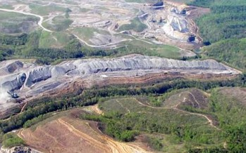 According to the U.S. House Natural Resources Committee, countries with mountaintop removal mines have a more than 40 percent higher rates of birth defects. (Vivian Stockman/OVEC/Southwings)