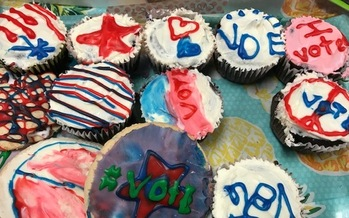 There wouldn't be cupcakes at a virtual Democratic caucus, but the idea is to make caucus attendance more accessible to all by allowing people to