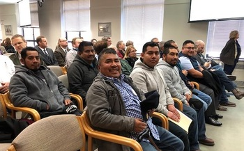 Washington state farmworkers testified in favor of a bill to give more oversight to a federal guest worker program this week. (Community 2 Community Development)