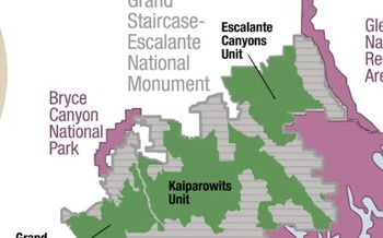 Tribal nations, environmental advocates and other stakeholders are waging legal challenges to the Trump administration's decision reduce the size of national monuments like Grand Staircase-Escalante. (National Parks Conservation Assn.)