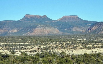 The Bears Ears National Monument's size was reduced by 85 percent in 2017 by President Donald Trump, leaving hundreds of archaeological sites unprotected. (PunkToad/Flickr)