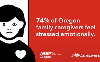 The average Oregon caregiver is a 62-year-old woman caring for an 80-year-old parent. (AARP Oregon)