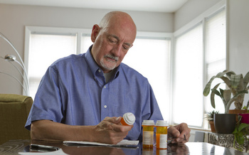 The average older American takes 4.5 prescription drugs per month.  (Burlingham/AdobeStock)