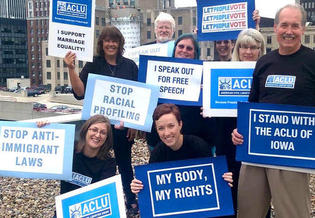 The Iowa chapter of the ACLU was founded in 1935, 15 years after the national organization. (ACLU of Iowa)