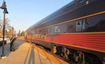 More than 27,000 passengers took the Hoosier State train in 2017. (David Wilson/Flickr)