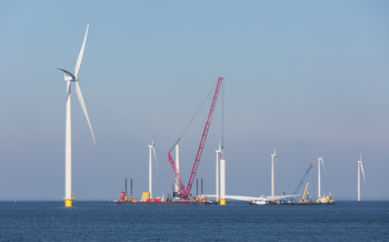 The New York Offshore Wind Master Plan estimates that building 2,400 MW of offshore wind-power production would create about 5,000 jobs. (Kruwt/AdobeStock)