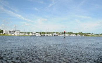 The Cape Fear River in Wilmington, N.C. (David Broad/Wikimedia Commons)