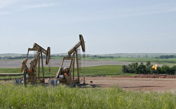Members of the Fort Berthold Reservation have felt health effects from nearby fracking. (Tim Evanson/Flickr)