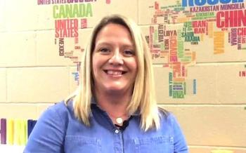 South Dakota Teacher of the Year Erica Boomsma is among 10,000 public school educators being recognized as part of National Teacher Appreciation Week. (South Dakota Dept. of Education)