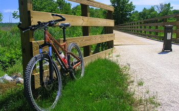 The Ohio to Erie Trail will be a crucial part of the 3,600-mile Great American Rail-Trail. (Tom Bower/Flickr)