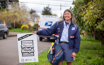 The Stamp Out Hunger food drive brought in more than a million pounds of food in Oregon and Clark County, Wash., last year. (Oregon Food Bank)