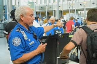 There are almost 50,000 Transportation Security Administration workers at more than 450 locations nationwide. (Transportation Security Administration)