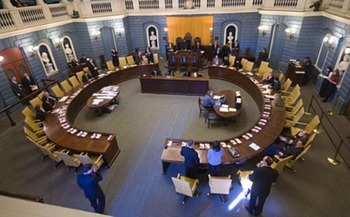 The Massachusetts Senate begins debating the proposed state budget for fiscal year 2020 at 10 a.m. today. (MA Legislature)