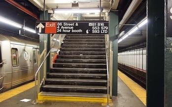 Tres cuartos de las estaciones del metro de New York siguen siendo inaccesibles para usuarios de sillas de ruedas. Tdorante10 [CC BY-SA 4.0 (https://creativecommons.org/licenses/by-sa/4.0)]