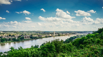 The Ohio River is 981 miles long and supplies drinking water to more than 5 million people. (Adobe Stock)
