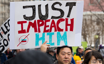 Demonstrations are expected in more than 100 cities across the country this Saturday calling for the impeachment of President Donald Trump. (Wikipedia)