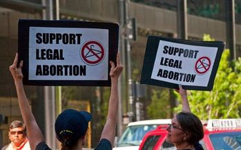 So far this year, 12 states have enacted some type of abortion ban. (Charles Edward Miller/Flickr)