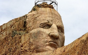 Tourism in South Dakota, including tourist visits to the Crazy Horse Memorial, has risen to record levels in each of the last nine years.(nockewell/pixabay)