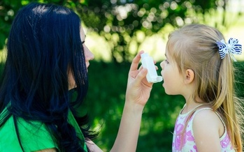 In the United States, 8% of children suffer from asthma. (Adobe Stock)