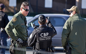 CBP training materials state that the Fourth Amendment does not require officers to advise bus passengers of their right to refuse consent to a search. (Josh Denmark/Flickr)