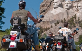 The first Sturgis Motorcycle Rally in South Dakota was held on August 14, 1938. (sdpb.org)
