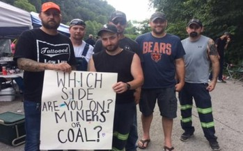 A number of public officials have come out in support of the laid-off Blackjewel miners, who are blocking coal shipments over their bounced paychecks. (Facebook)