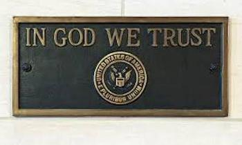 South Dakota's new state law requiring public schools to display the motto,