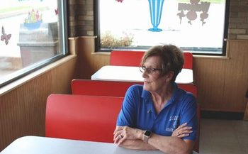 As owner of Loder's Shake Shoppe in North Royalton, Linda Watkins says she doesn't believe it is fair for some business owners to avoid paying the appropriate amount of taxes. (Samantha Raudins)
