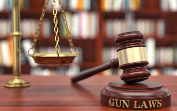 Illinois gets a grade of 'B+' for passing state gun-control legislation, according to the Giffords Law Center for Gun Violence Prevention. (Adobe Stock)  Illinois gets a grade of 'B+' for passing state gun-control legislation, according to the Giffords Law Center for Gun Violence Prevention. (Adobe Stock)