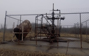 Oil and gas wells that are tapped out can be re-purposed to store industrial waste. (Michigan Citizens for Water Conservation)