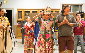 Two spirit people are reclaiming some of their traditional roles in native tribes at a gathering in Montana this week. (Montana Two Spirit Society)
