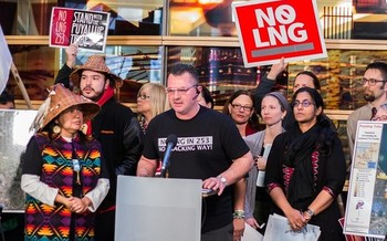 Groups opposed to a Tacoma liquefied natural gas project say it's received permits based on flawed analyses. (Seattle City Council/Flickr)