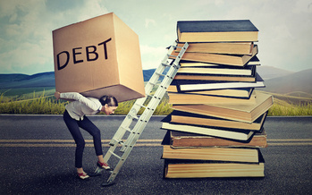 About 44 million Americans collectively owe more than $1.5 trillion in student loan debt. (Adobe Stock)